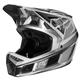 Fox Rampage Pro Carbon Beast Helmet Men's Size Large in Silver