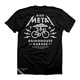 Twin Six Ride Metal T-Shirt Men's Size XX Large in Black