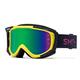 Smith Fuel V.2 Goggles Men's in Citron/Indigo/Green Mirror Lens