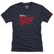100% Thanks T-Shirt 2019 Men's Size Small in Navy Heather