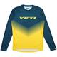 Yeti Alder Dart Ombre Long Sleeve Jersey 2019 Men's Size Medium in Storm/Sulfer