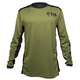 Fasthouse Fast Bolt Jersey Men's Size XXX Large in Olive