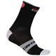 Castelli Rosso Corsa 13 Socks 2019 Men's Size Large/Extra Large in Anthracite/Red