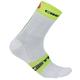 Castelli Free 9 Socks 2019 Men's Size Large/Extra Large in White/Yellow