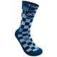 Tasco Double Digits Socks Tonal Blue Checkmate Men's Size Large/Extra Large
