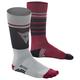 Dainese HG Socks 2019 Men's Size Medium in Vapor Blue/Chili Pepper/Black Iris