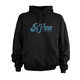 Afton Script Hoodie 2019 Men's Size Extra Large in Black