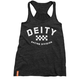 Diety Women's Division Tank Size Large in Grey