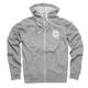 Deity Speed Co. Zip Hoodie Men's Size Extra Large in Grey