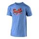 Troy Lee Designs Vintage Speed Shop Tee Men's Size Medium in Cabo Blue