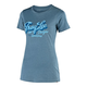 Troy Lee Designs Women's Vintage Speed Shop Tee Size Extra Large in Indigo
