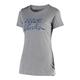 Troy Lee Designs Ws Peace&Wheelies Tee Women's Size Large in Dark Heather Gray