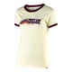 Troy Lee Designs Wmns Velo Tee 2019 Women's Size Extra Large in Natural/Maroon