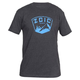 Zoic Badge Tee 2019 Men's Size Small in Charcoal