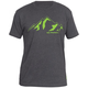 Zoic Ride Mountains Tee 2019 Men's Size XX Large in Charcoal