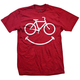 DHDWEAR Smiley T-Shirt Men's Size XXXX Large in Red
