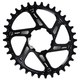 Hope Oval DM Boost Retainer Chainring Black, 34T