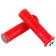 Sensus Meaty Paw Lock on Grips Red/Graphite w/Silver Clamps