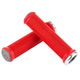 Sensus Lite Lock on Grips Red/Graphite w/Silver Clamps