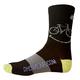 DHDWEAR Smiley Socks Men's in Black