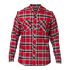 Fox Fusion Tech Flannel Men's Size XX Large in Cardinal