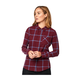 Fox Roost Women's Flannel Size Extra Large in Purple