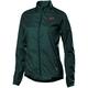 Fox Defend Wind Women's Jacket Size Extra Large in Aqua