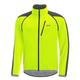 Gore Wear Windstopper Zip Off Jacket Men's Size XXX Large in Yellow