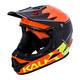 Kali Zoka Switchback Helmet Men's Size Extra Large in Gloss Orange/Fluo Yellow/Black