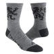 Twin Six Brew Pub Wool Socks 2020 Men's Size Large/Extra Large in Grey