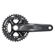 Shimano Deore FC-M4100-B2 10 Speed Crankset 175mm, 36/26 Tooth, 51.8mm Chainline, Boost