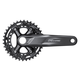 Shimaon Deore FC-M5100-B2 11 Speed Crankset 175mm, 36/26 Tooth, 48.8 mm Chainline, Non-Boost
