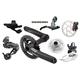 SRAM X.7/X.5 BB5 Fat Bike Build Kit