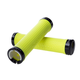Chromag Basis Grips Neon Yellow, Black Clamps