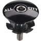 All-City Top Cap Black 1-1/8