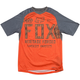 Fox Indicator SS Jersey Men's Size Small in Charcoal/Orange