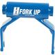 Hurricane Components 15mm Rack Adapter Blue, 15X150mm Thru-Axle
