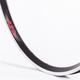 Velocity A23 700C Black/Silver Rim