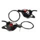SRAM X0 3X10 Trigger Shifter Set