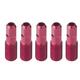 Easton External Threaded Nipple Red, 17mm, 5 Pack