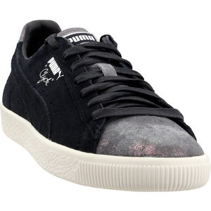 Puma Clyde Frosted Black Womens Lace Up