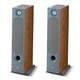 Focal Chora 826-D Floorstanding Speakers with Built-In Dolby Atmos Modules - Pair (Dark Wood)