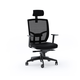 BDI TC-223 Fabric Task Chair (Black)