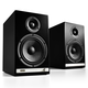 Audioengine HD6 Premium Powered Wireless Bookshelf Speakers - Pair (Black)