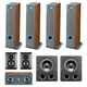 Focal Chora 7.2.4 Dolby Atmos Home Theater System (Dark Wood)