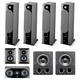 Focal Chora 7.2.4 Dolby Atmos Home Theater System (Black)