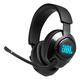 JBL Quantum 400 Over-Ear USB Gaming Headphones (Black)