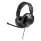 JBL Quantum 200 Over-Ear Gaming Headphones (Black)