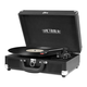 Victrola The Journey Bluetooth Suitcase Record Player with 3-speed Turntable (Black)