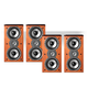 Polk Audio TSi200 2-Way Bookshelf Speaker Package - set of two pairs (Cherry)
